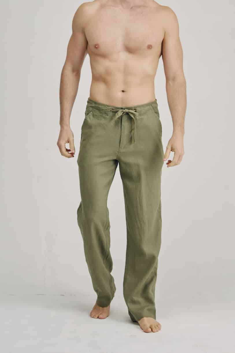 Men's 100% Hemp Long Pants
