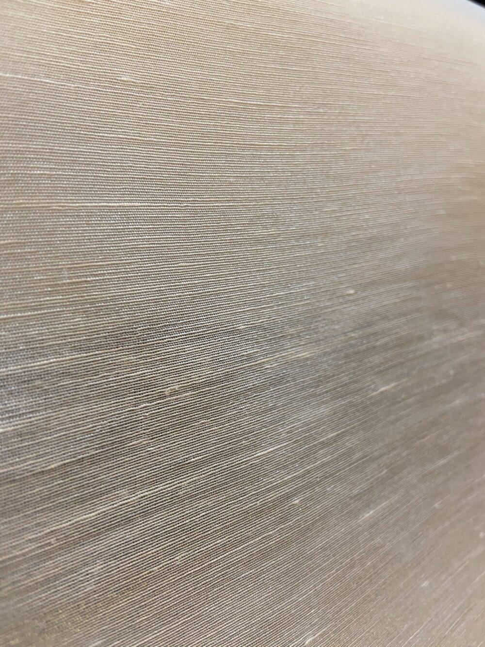 Raw Hemp and Silk Blend Fabric