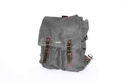 "Hemp Backpack - ""The Cadet Bag"""