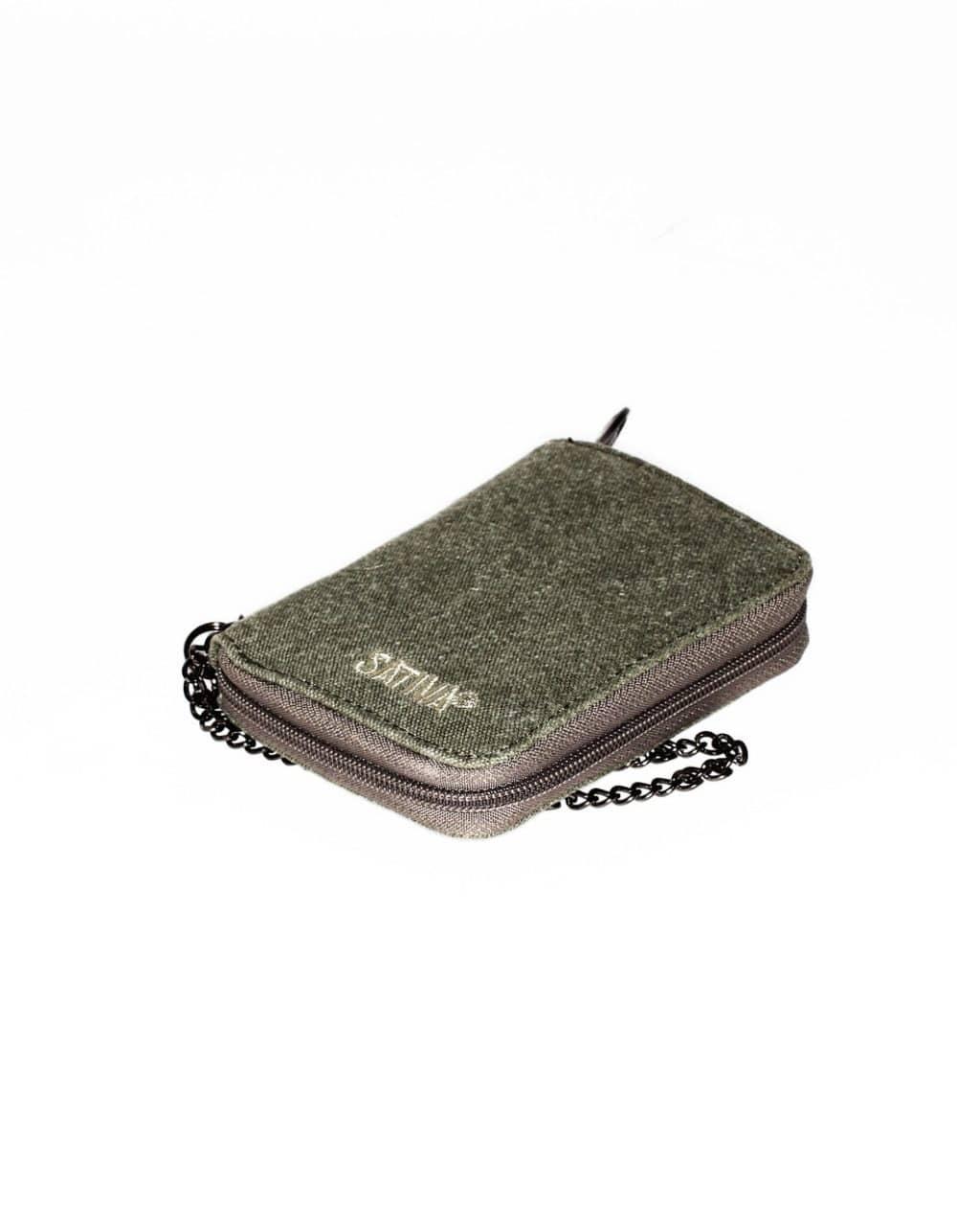Hemp Wallet with Chain