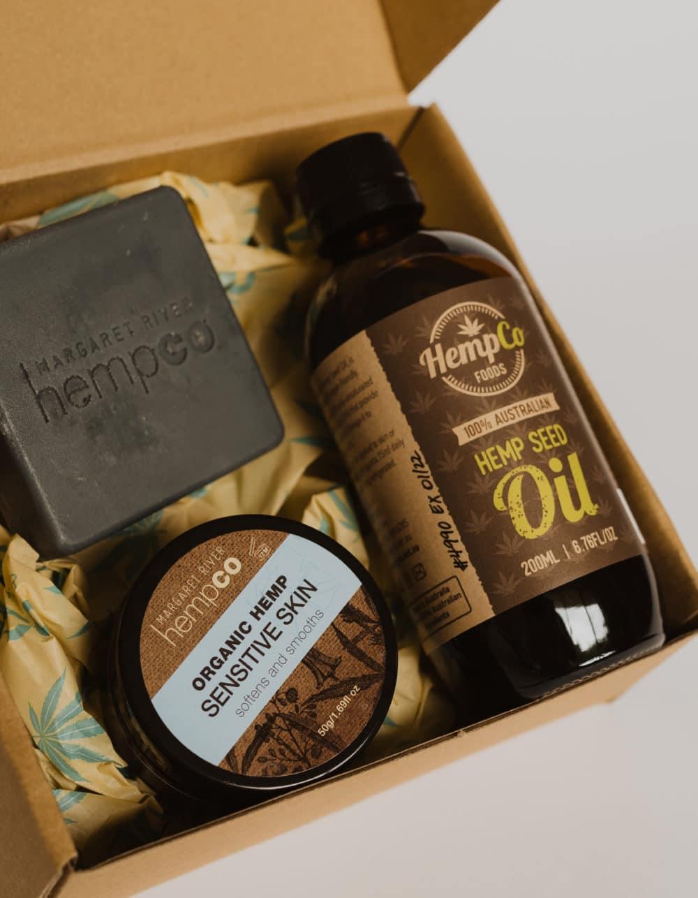Hemp & Charcoal Sensitive Skin Gift Box