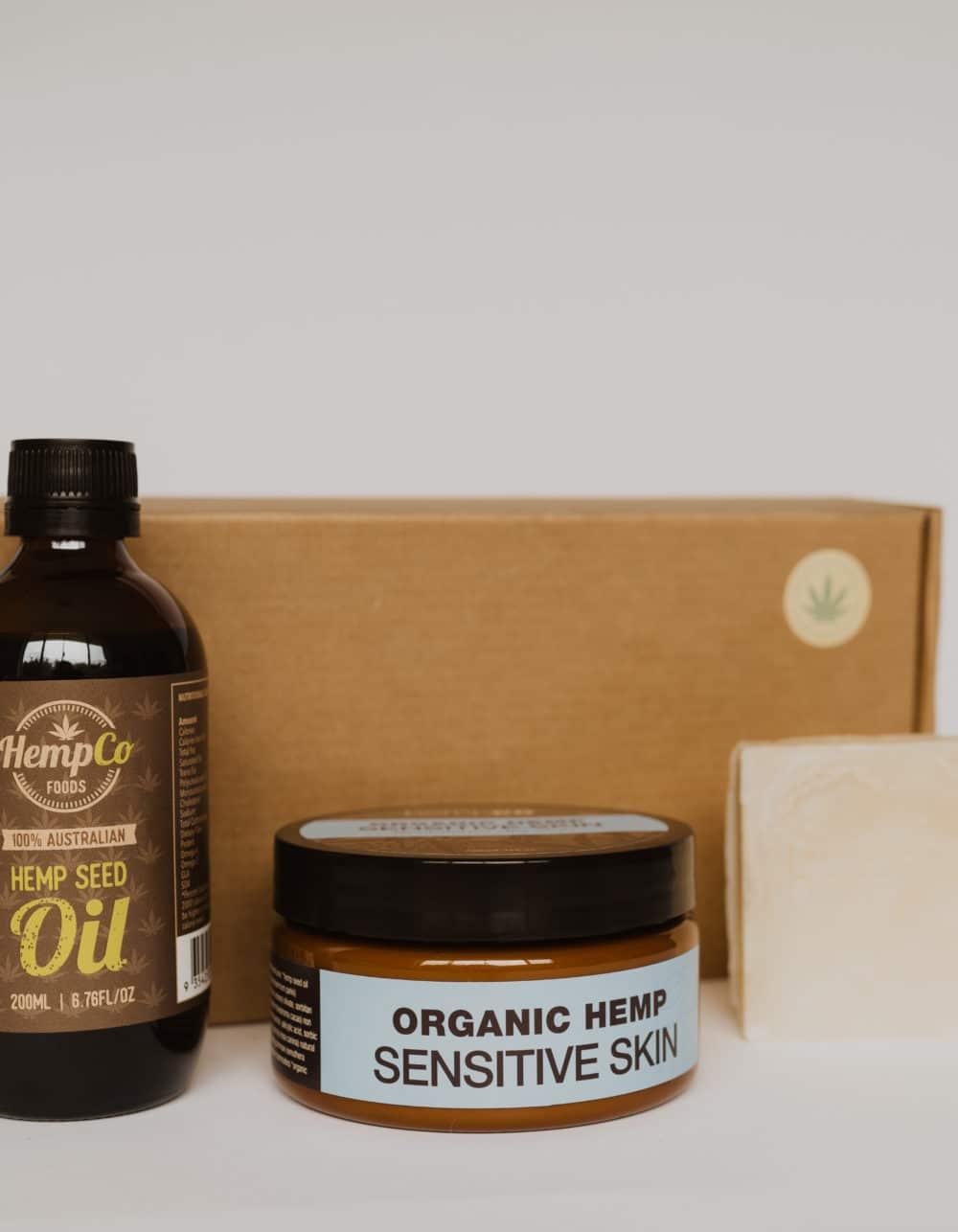 'Sensitive Skin' Hemp Gift Box