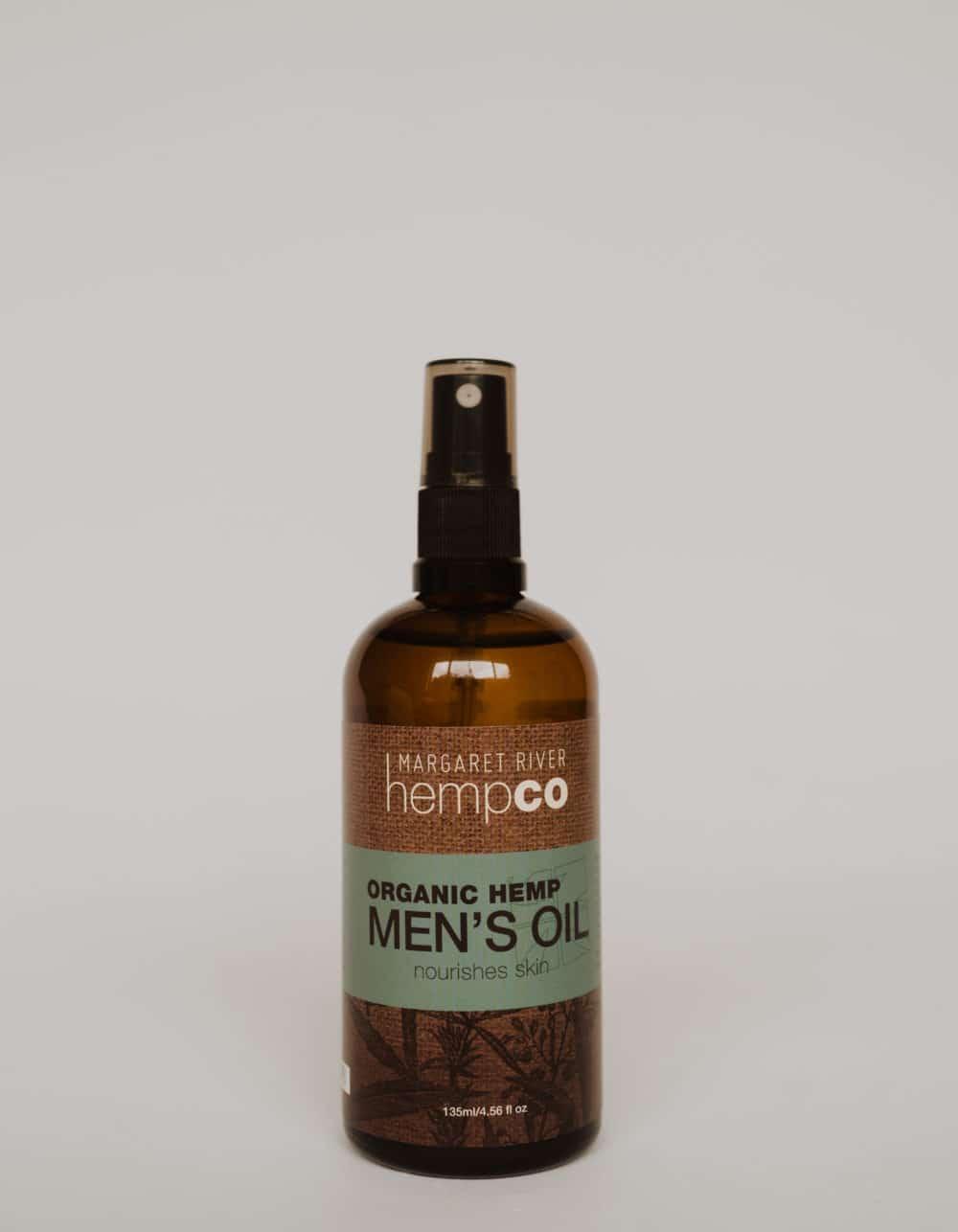 Organic Hemp Men's Massage Oil