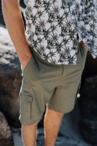 Mens Hemp Cargo Shorts