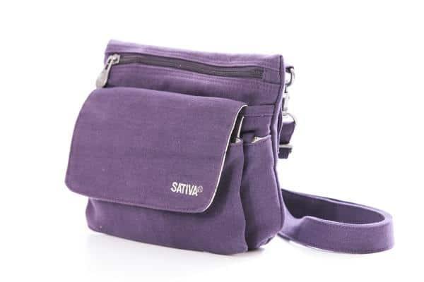 """The Day-Tripper"" Hemp Shoulder Bag"