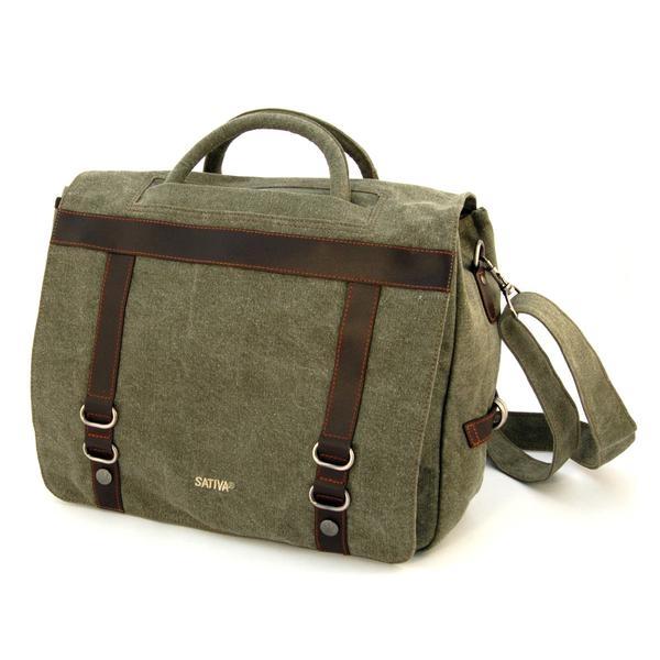 """The 9-5 Utility Bag"" - Hemp Briefcase"