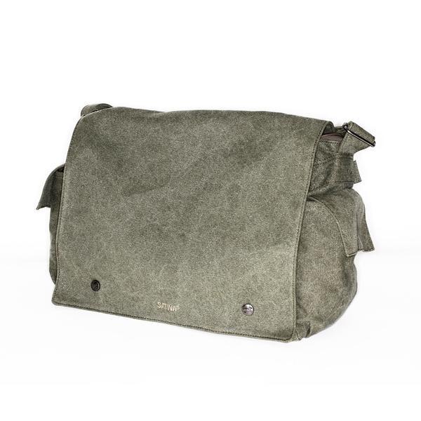 """The Postman"" Hemp Shoulder Bag"