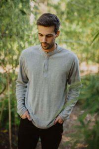 short sleeve hemp shirt/t.shirt