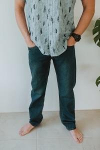 Men's Hemp Denim Jeans