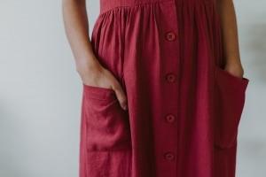 Ladies Hemp Dress
