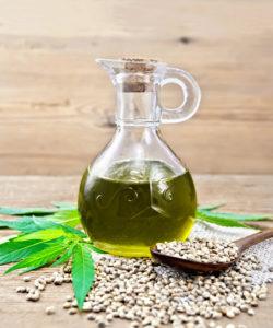 Unrefined Hemp Seed Oil