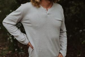Men's Hemp Henley T.Shirt
