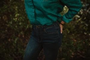 Ladies Hemp Jeans Denim