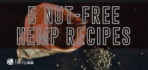 Nut Free hemp recipes