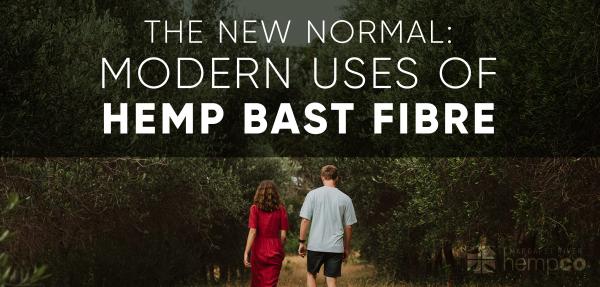 Uses of Hemp Bast Fibre