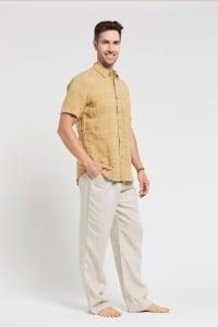 Men's Hemp Short Sleeve 100% Hemp Shirt