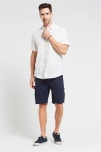 Men's 100% Hemp Short Sleeve Shirt