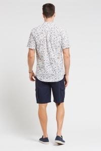 Men's Hemp Floral Shirt
