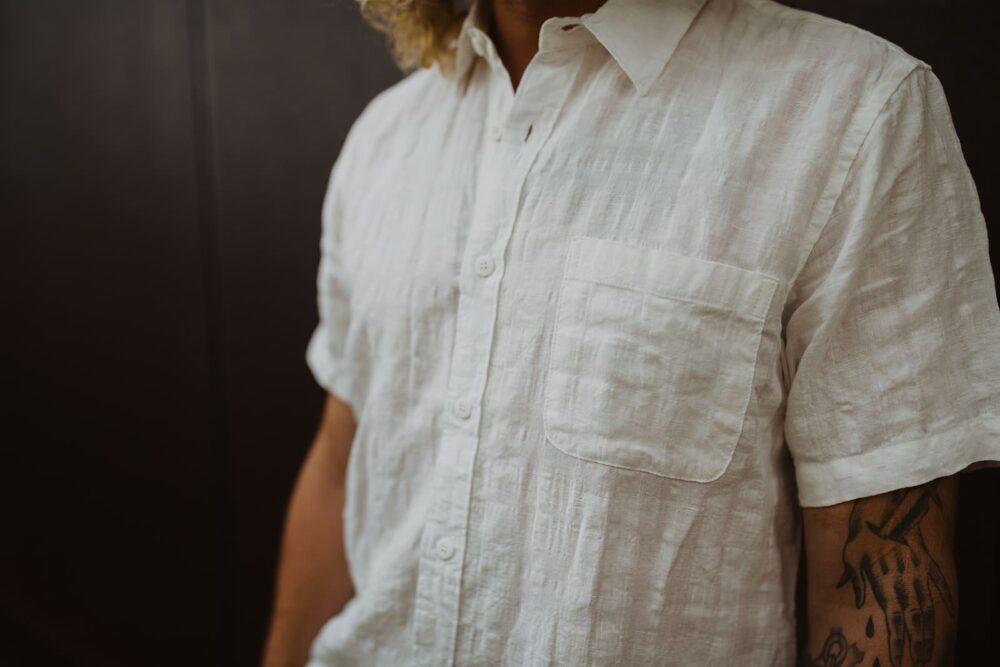 Men's 100% Hemp Shirt