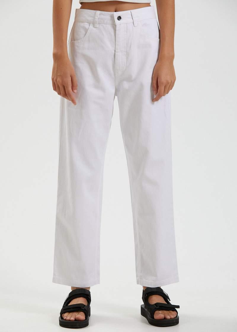 Hemp White Pants