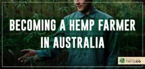 Hemp Farmer in Australia