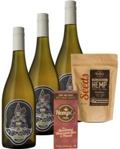 Margaret River Hemp White Wine and Handcrafted Hemp Chocolate