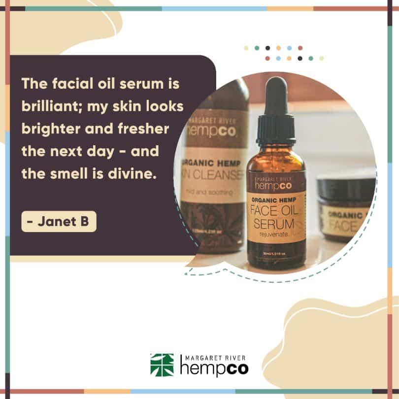 Hemp Skincare Testimonial