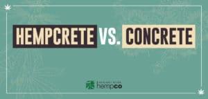 Hempcrete vs. Concrete