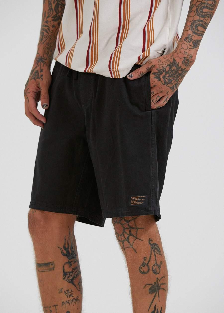 Hemp Elastic Shorts