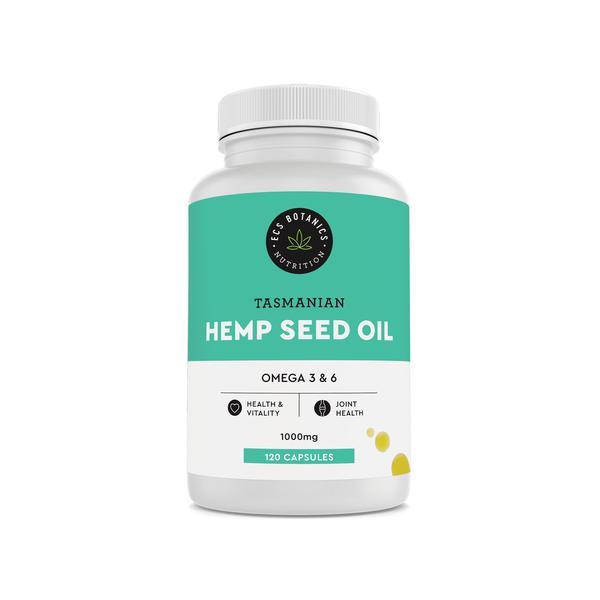Hemp Seed Oil Capsules