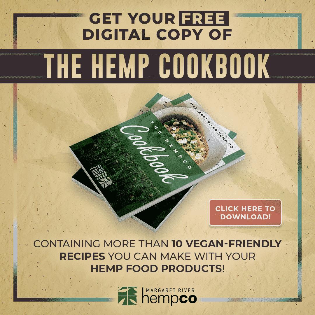 &Margaret River Hemp Co. Hemp Cookbook 2021 - 13 Hemp & Plant-Based Recipes