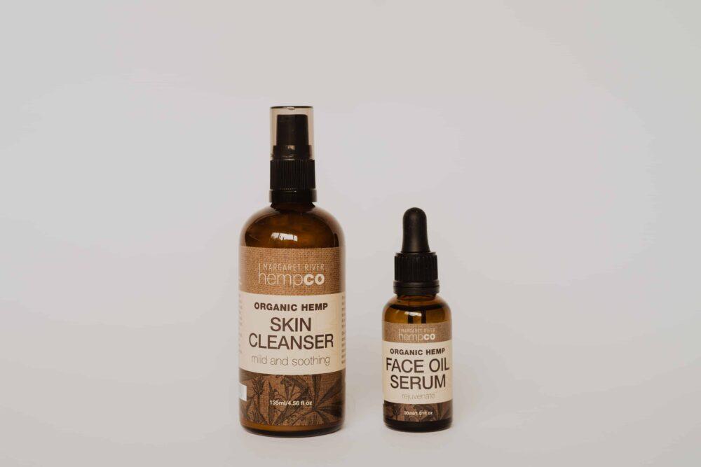 Hemp Face Cleanser & Face Oil Serum