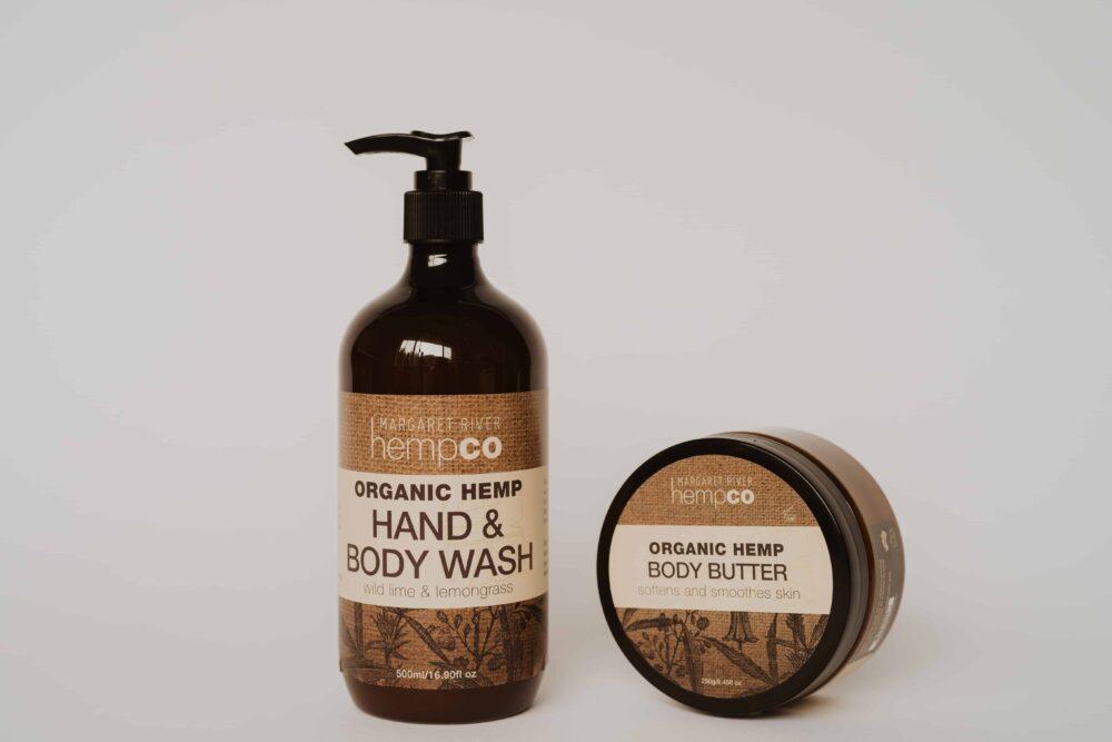 hemp Body Wash & Body Butter