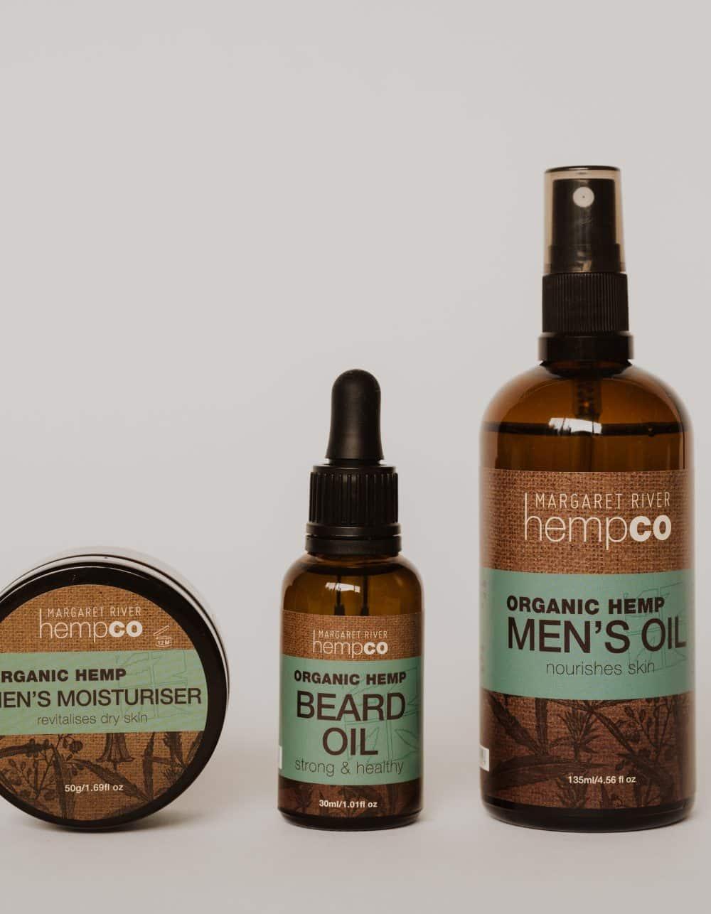Men's Hemp Beard & Body Bundle