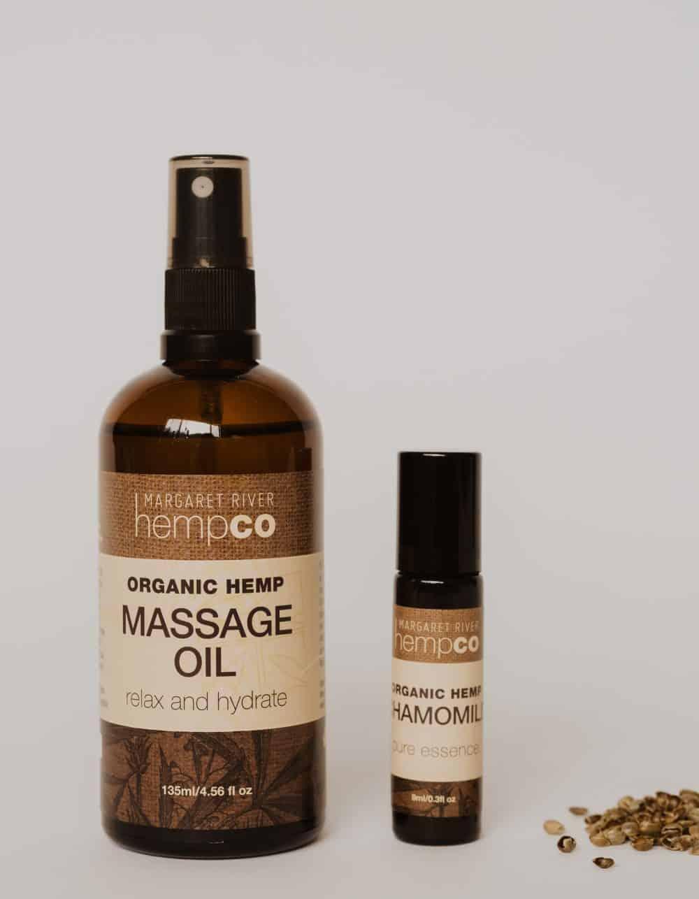 Hemp Massage Oil Bundle