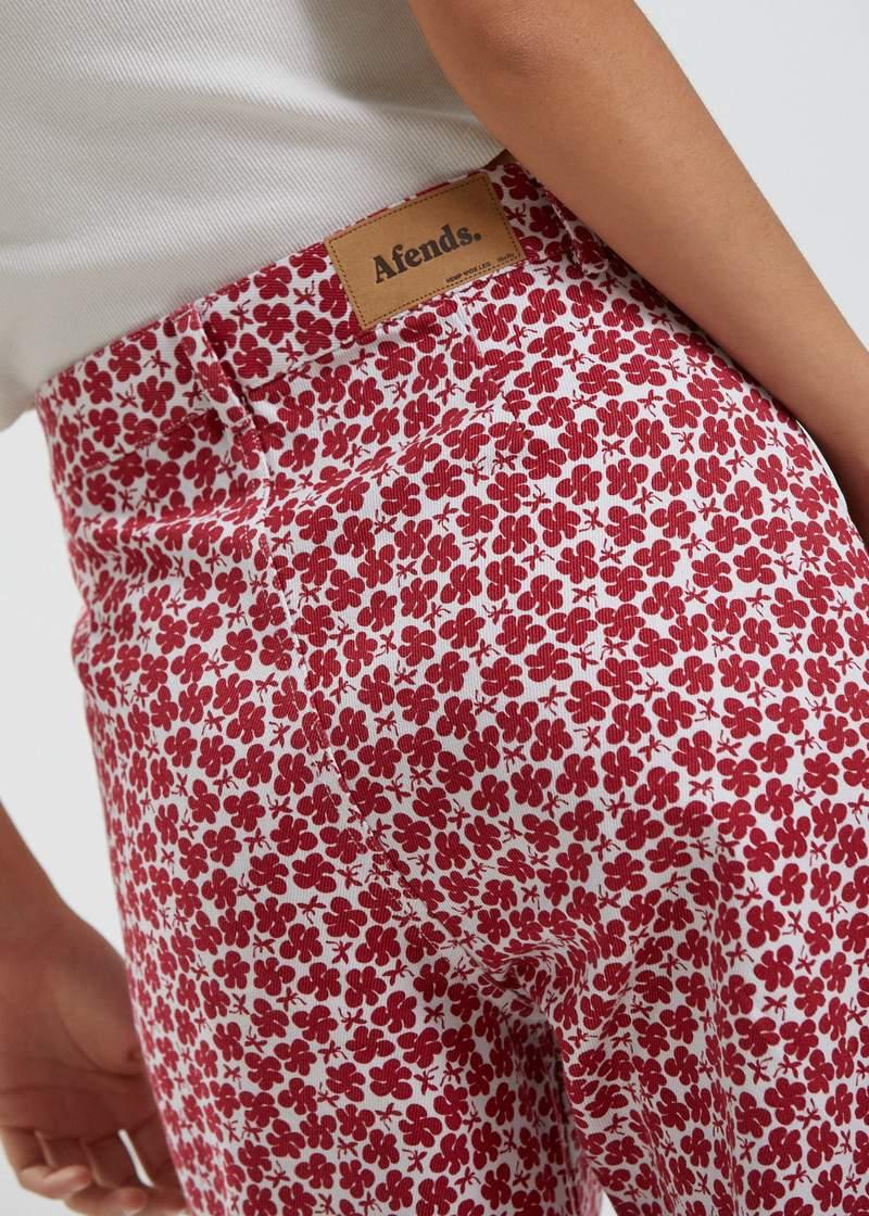 Hemp pants ladies